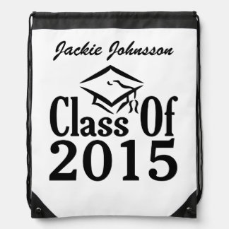 Class of ANY year custom text backpack
