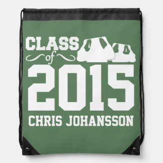 Class of ANY year custom text & color backpack