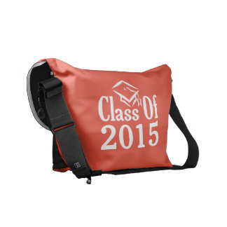 Class of ANY year custom text & color bag Messenger Bag