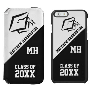 Class of Any Year custom text & color case wallets Incipio Watson™ iPhone 6 Wallet Case