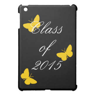 Class of - Black and Gold Butterfly iPad Mini Cover