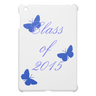 Class of - Blue and White Butterfly iPad Mini Cases
