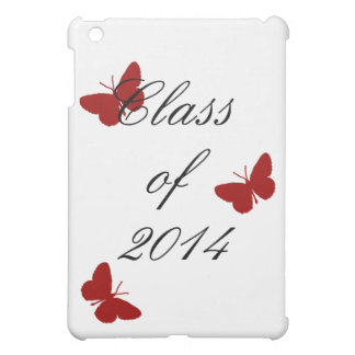 Class of - Cardinal Butterfly iPad Mini Cover