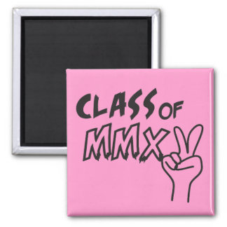 Class of MMXV 2015 Peace Sign Refrigerator Magnet