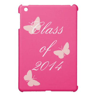 Class of - Pink Butterfly iPad Mini Case