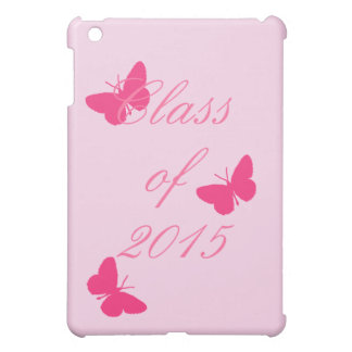 Class of - Pink Butterfly iPad Mini Cover