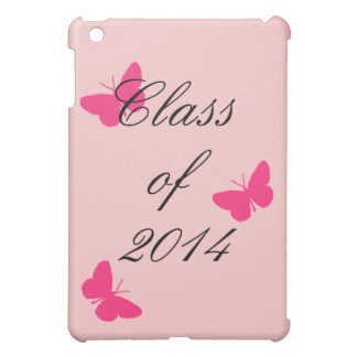 Class of - Pink Butterfly iPad Mini Covers