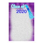 Class Of Plaid Graduation Set