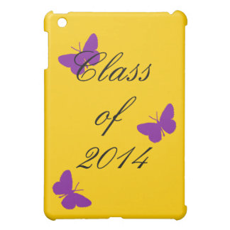 Class of - Purple and Gold Cover For The iPad Mini