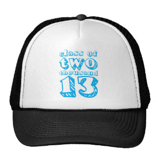 Class of two thousand 13 - Cyan Hats