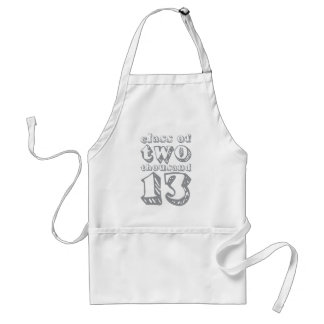 Class of two thousand 13 - Grey Standard Apron