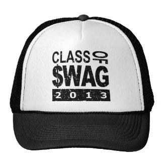 Class Of $WAG 2013 Mesh Hats