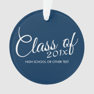 Class of with Custom Year and High School