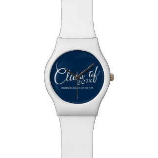 Class of with Custom Year and High School Wristwatches