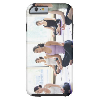 Class of women performing the meditative tough iPhone 6 case