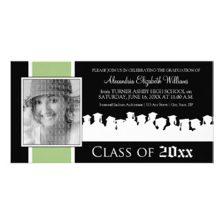 Class of [YEAR] Graduation Announcement: sage Photo Cards