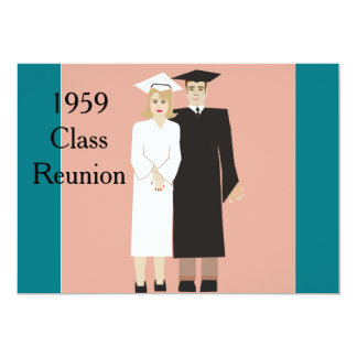 Class Reunion 13 Cm X 18 Cm Invitation Card