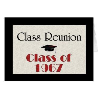 Class Reunion 1967 Cards