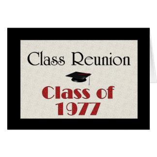 Class Reunion 1977 Card