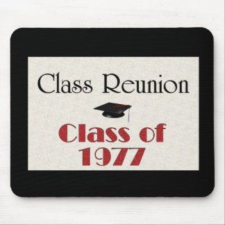 Class Reunion 1977 Mouse Mat