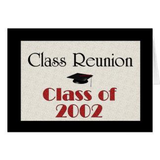 Class Reunion 2002 Cards