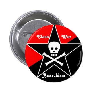 Class War Anarchism Pins