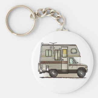 ClassC Camper RV Key Chains
