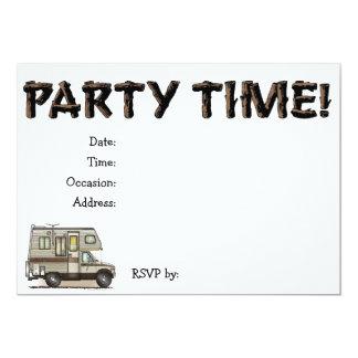ClassC Camper RV Magnets 13 Cm X 18 Cm Invitation Card