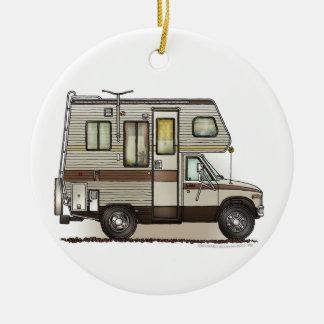 ClassC Camper RV Magnets Christmas Ornament