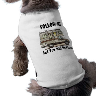 ClassC Camper RV Magnets Sleeveless Dog Shirt