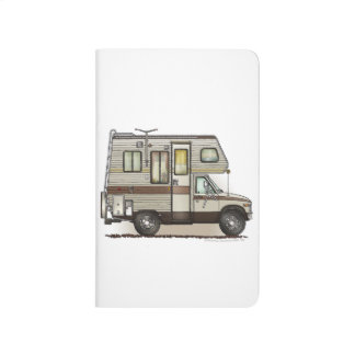 ClassC Camper RV Magnets Journal