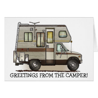 ClassC Camper RV Magnets Note Card
