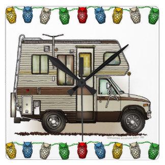 ClassC Camper RV Magnets Wallclock