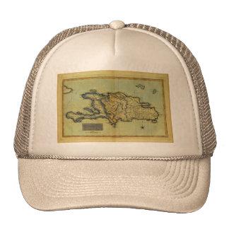 Classic 1823 Antiquarian Map of Hispaniola & Haiti Trucker Hat