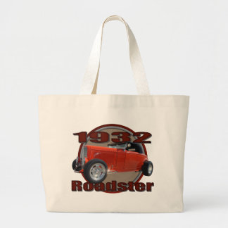 Classic 1932 Red Ford Roadster Canvas Bags