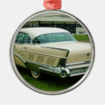 Classic 1958 Buick Limited. Silver-Colored Round Decoration