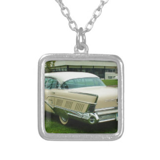 Classic 1958 Buick Limited. Silver Plated Necklace