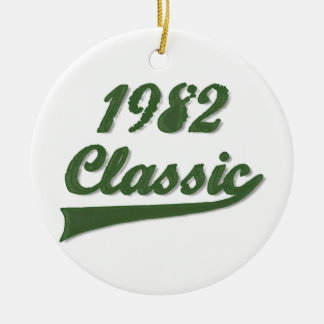 Classic 1982 christmas ornament