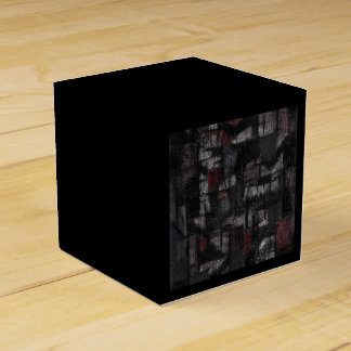 Classic 2x2 Tango in the rain black Favour Box