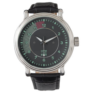 Classic 356 rev counter, old air-cooled sports car wrist watches
