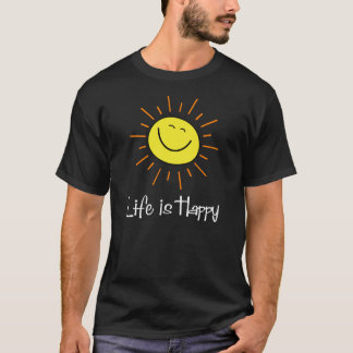 Classic 70's Yellow Smiley Happy Face T-Shirt