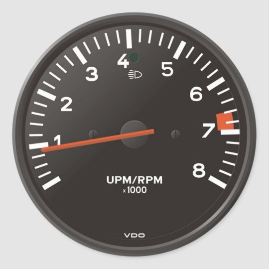 Classic 911 rev counter (old air-cooled car) classic