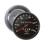 Classic 911 speedometer (old air-cooled car) 6 cm round badge