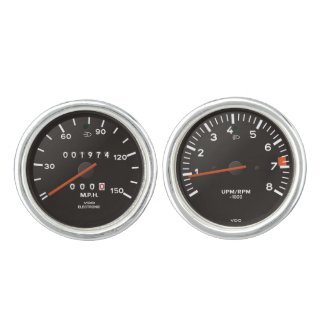 Classic 911 speedometer (old air-cooled car)
