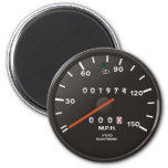 Classic 911 speedometer (old air-cooled car) 6 cm round magnet