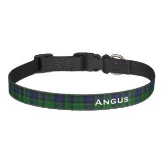 Classic Abercrombie Tartan Plaid Custom Dog Collar