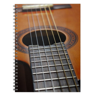 Classic Acoustic Guitar Notebook