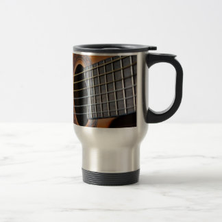 Classic Acoustic Guitar Travel Mug