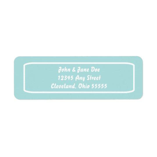 Classic Address Avery Label (Tiffany)