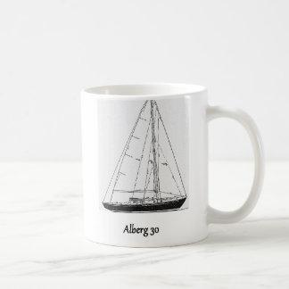 Classic Alberg 30 Yacht Coffee Mug